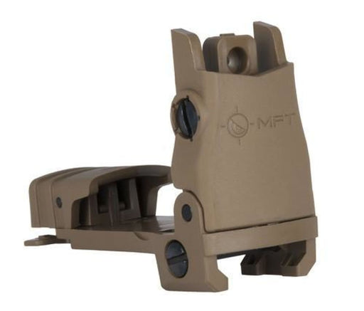 Mft Flip Up Rear Sight - Sde Sights Ar15Discounts