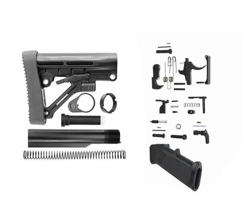 Omega Lower Build Kit W/ Odin Works Lpk Lower Build Kit Ar15Discounts