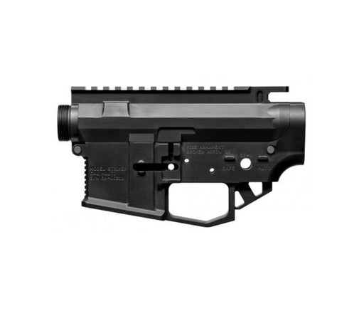 Rise Armament Str-2 Striker Billet Ar-15 Receiver Set - Anodized Black Receiver Set Ar15Discounts