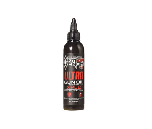 Strike Industrial Anti Venom Ultra Gun Oil - 4Oz Cleaning / Lubricating Fluid Ar15Discounts