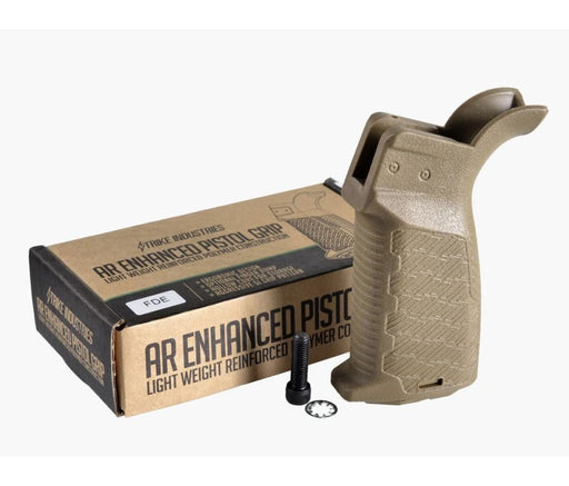Strike Industries Ar Enhanced Pistol Grip - Fde Pistol Grip Ar15Discounts