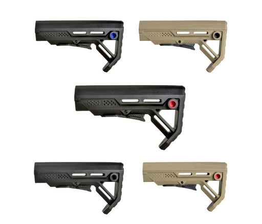 Strike Industries Viper Mod-1 Stock (Black Fde Red Blue) Stock Ar15Discounts