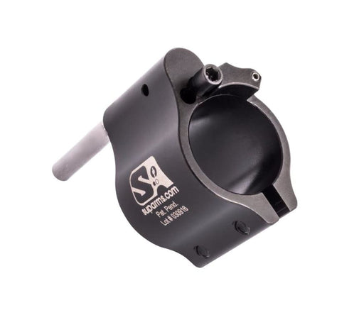 Superlative Arms .750 Adjustable Gas Block - Clamp On - Melonited Gas Block Ar15Discounts