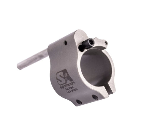 Superlative Arms .750 Adjustable Gas Block - Clamp On - Stainless Steel Gas Block Ar15Discounts