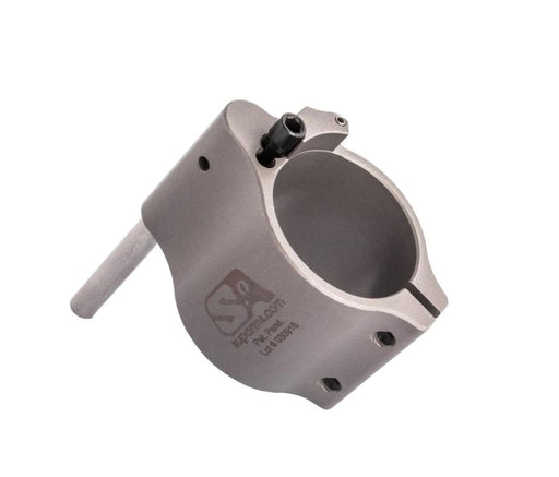 Superlative Arms .875 Adjustable Gas Block - Clamp On - Stainless Steel Gas Block Ar15Discounts
