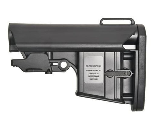 Survivor Systems Professional Collapsible Stock - Black Stock Ar15Discounts