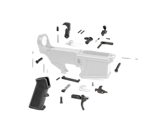 Tiger Rock 308 Lower Parts Kit W/ Standard Grip & Trigger Guard Lower Parts Kit Ar15Discounts
