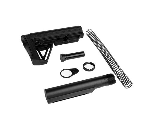 Trinity Force Alpha Mil Spec Stock & Buffer Kit - Black Stock & Buffer Kit Ar15Discounts