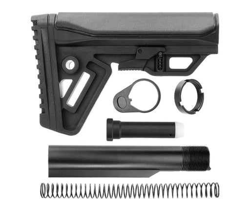 Trinity Force Cobra Mil Spec Stock & Buffer Kit - Black Stock & Buffer Kit Ar15Discounts