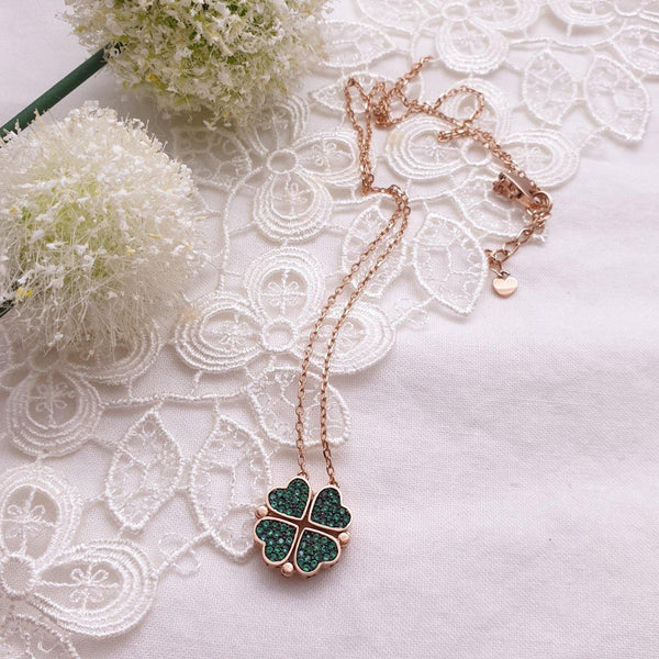 Clover necklace - NABILONDON