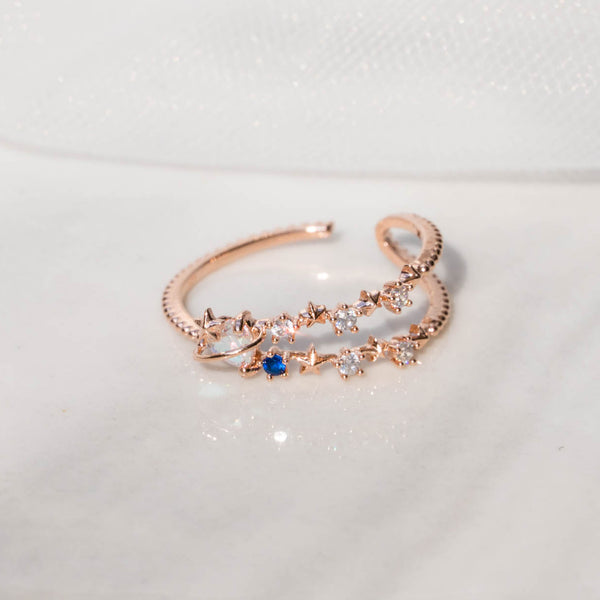Heart AB milky way ring