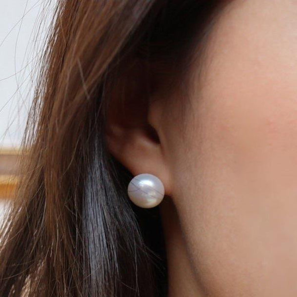 12mm Fresh water pearl earrings