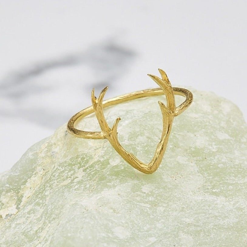 Mini antler ring