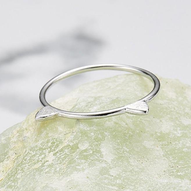 cat ear ring