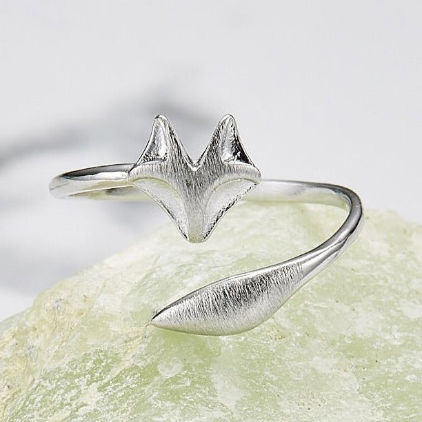 Fox tail ring