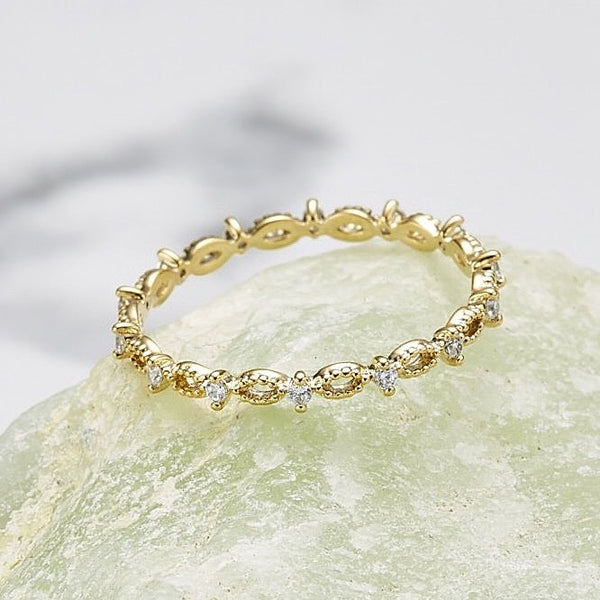 Cubic oval chain ring