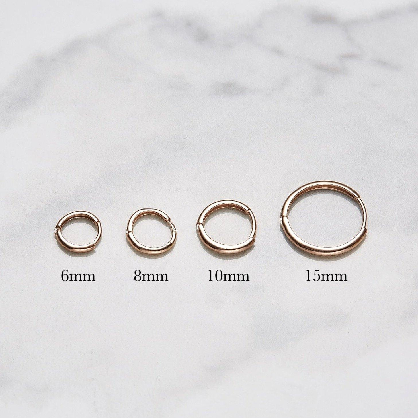 10mm One-touch earrings
