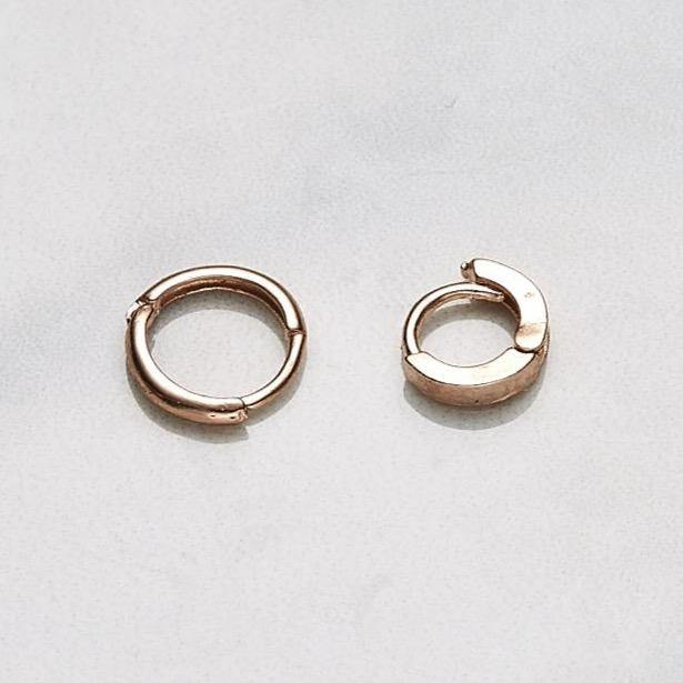 6mm one-touch earrings