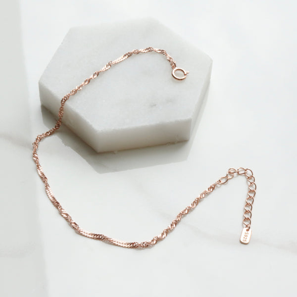 Silk Roll Chain Bracelet