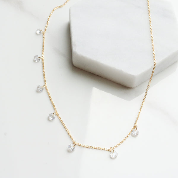 seven drops necklace