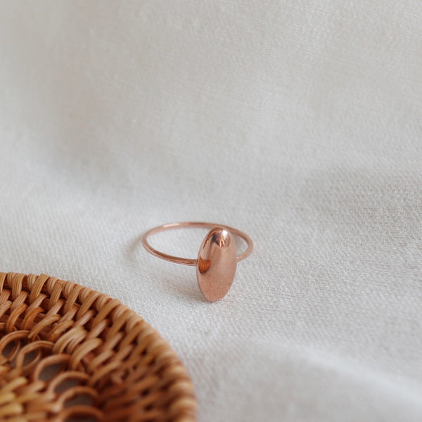 Volume oval ring