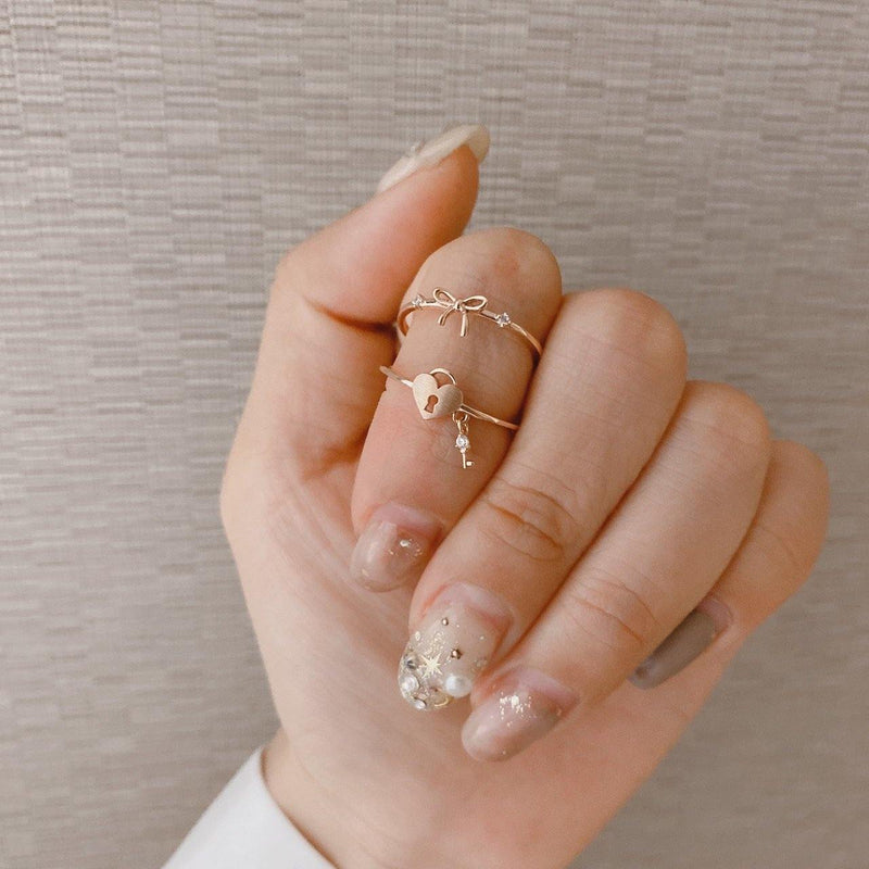 Ribbon cubic ring - NABILONDON
