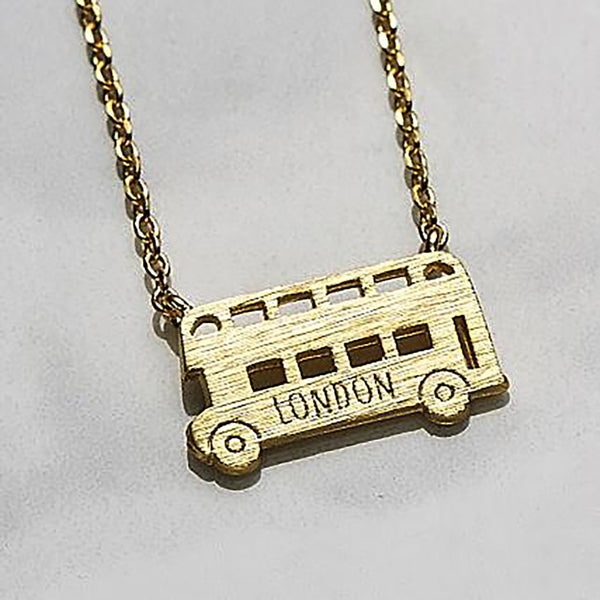 London bus Necklace
