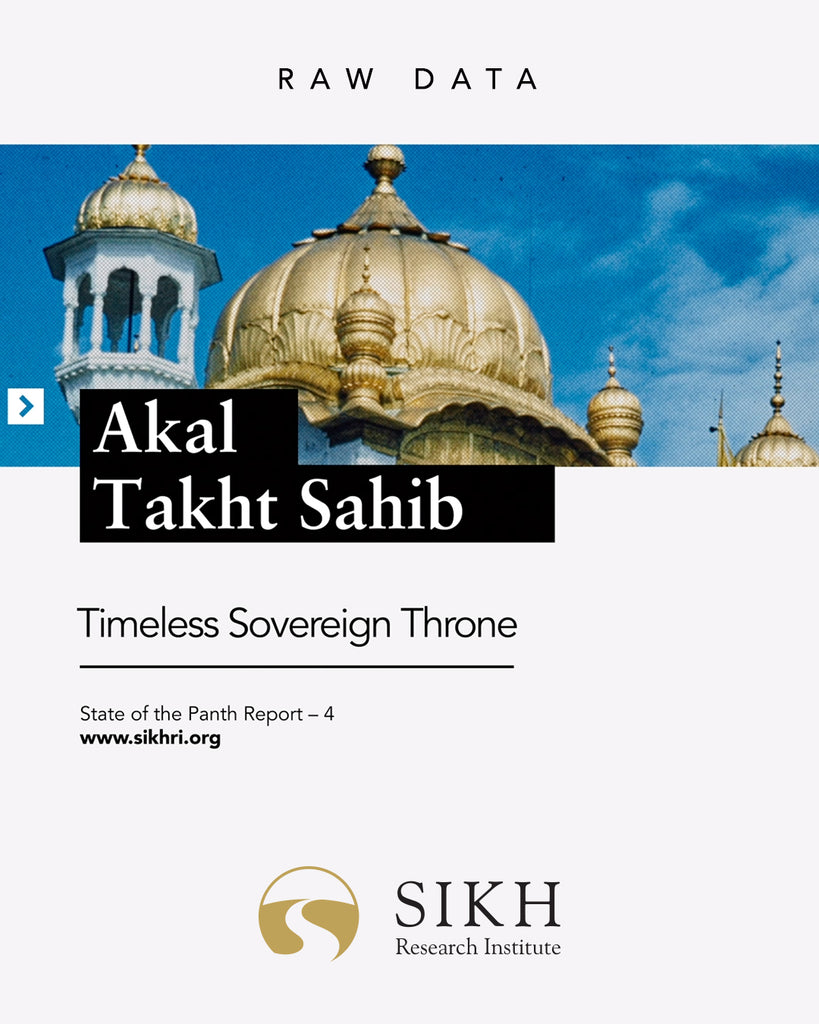 Akal Takht Sahib: Timeless Sovereign Throne – RAW Data – SOTP Report