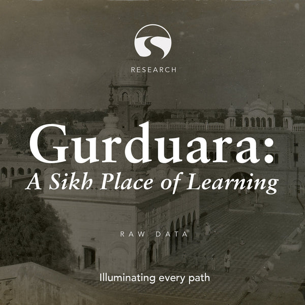 Gurduara: A Sikh Place of Learning – Raw Data