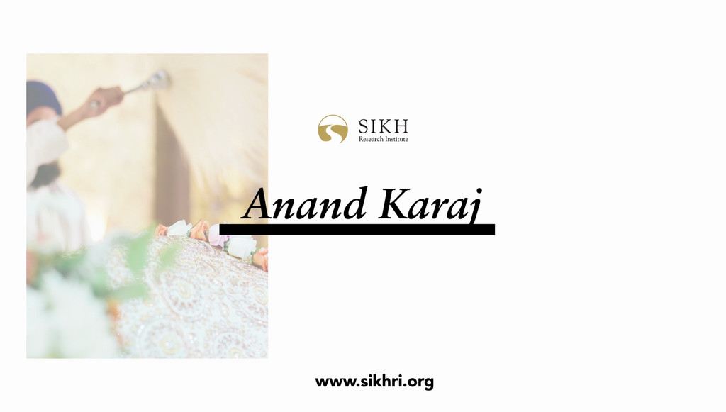 Anand Karaj: The Sikh Marriage (Free Download)