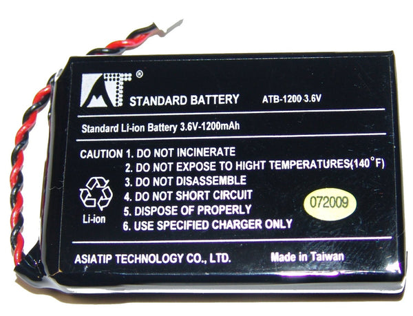 RTI T2B/T2Cs/T2Cs+/T2C/T2C+/T3 Li-Ion Rechargeable Battery
