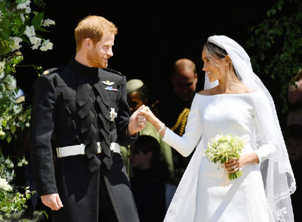 Inspired by the Perfect Union:  The Duke and Duchess of Sussex