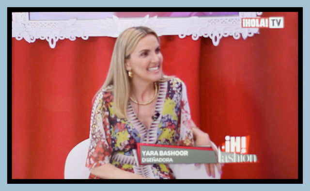Yara Bashoor Handbag Designer Ostrich Alligator Bags on HOLA TV