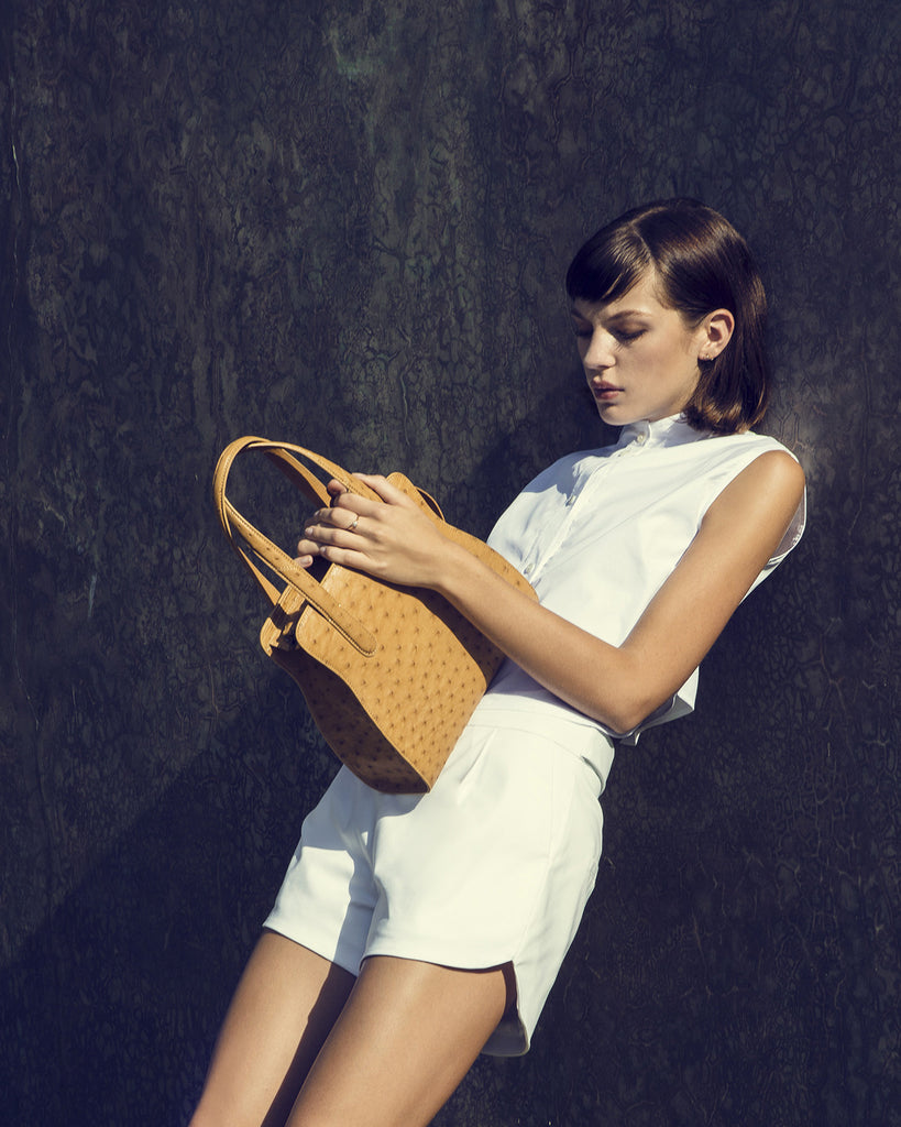 The ADAM S TOTE Ostrich - Buttercup