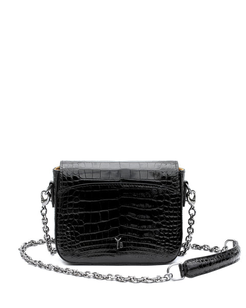 The HAROLD Genuine American Alligator - Black