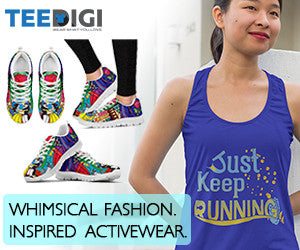 disney inspired activewear and running shoes