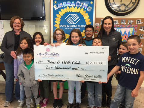 Boys and Girls Clubs of Ada County Receive $2000 from Main Street Bella