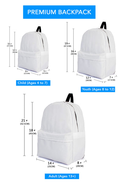 backpack sizing info