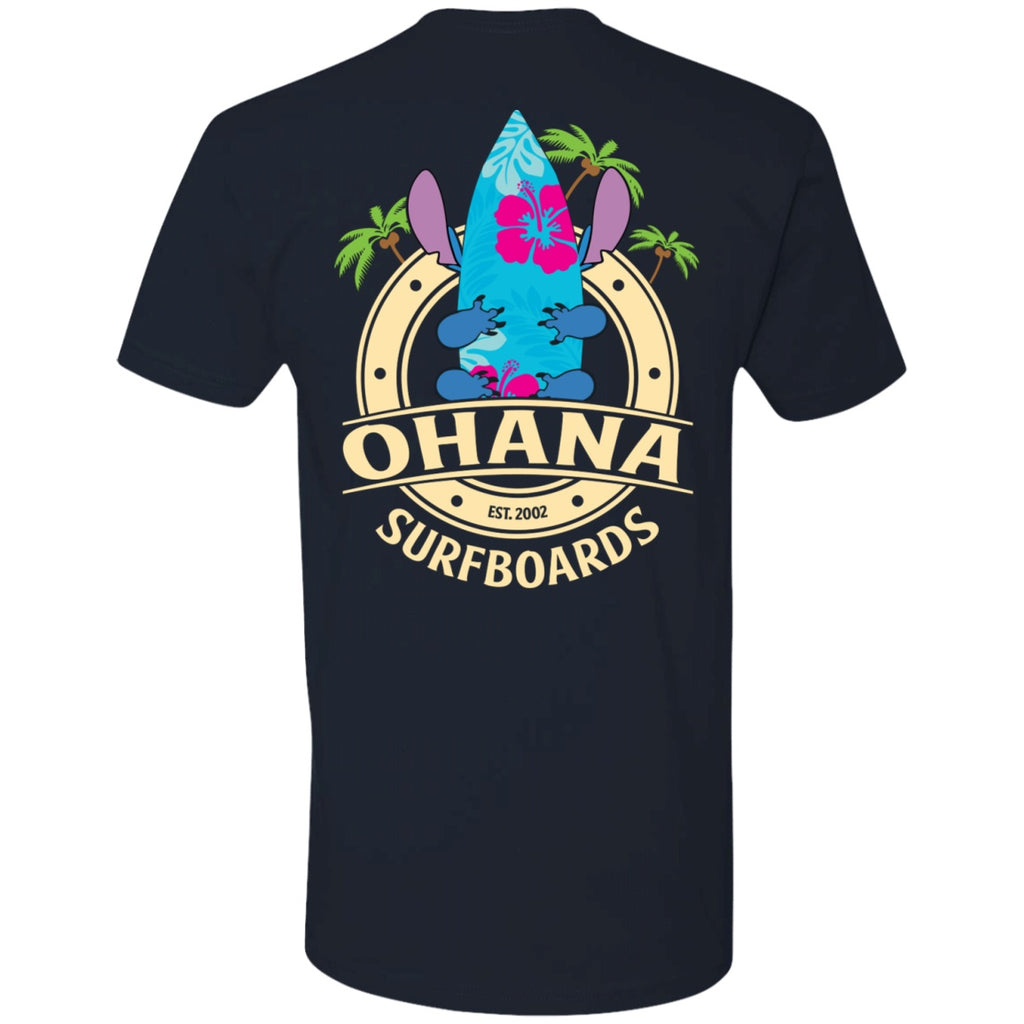 Apparel - Ohana Surfboards | Front & Back Tee