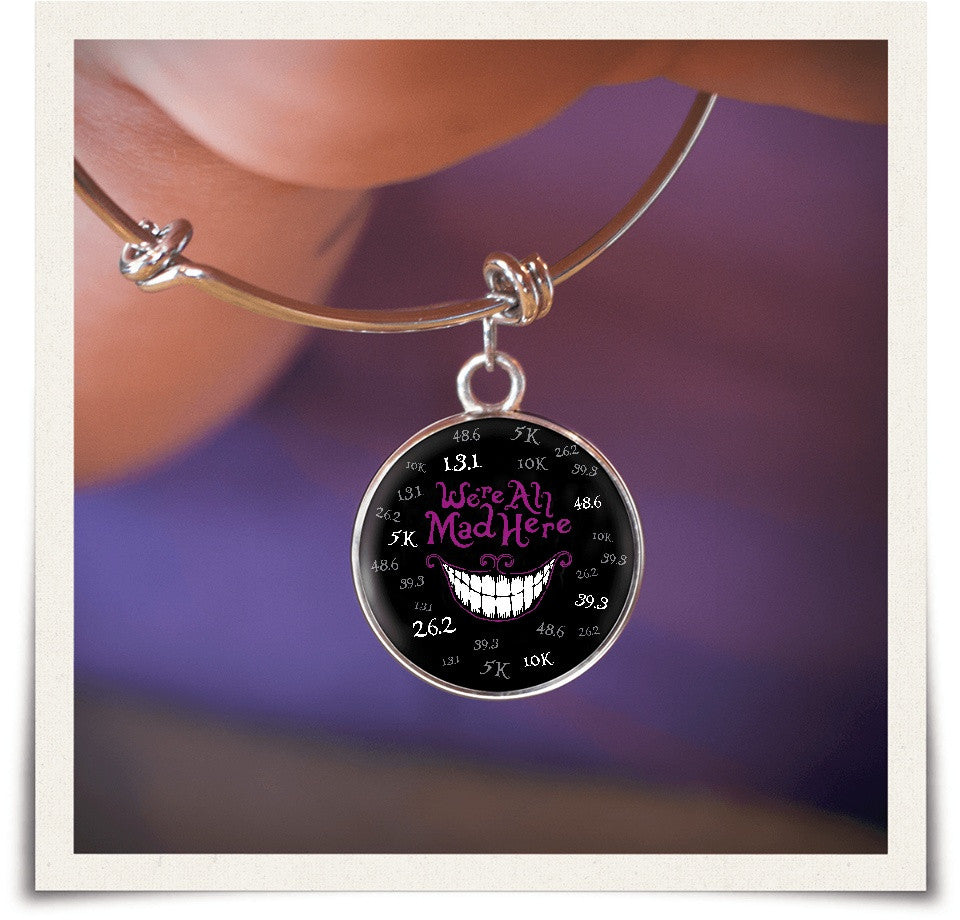 We're All Mad Here - Bangle Jewelry