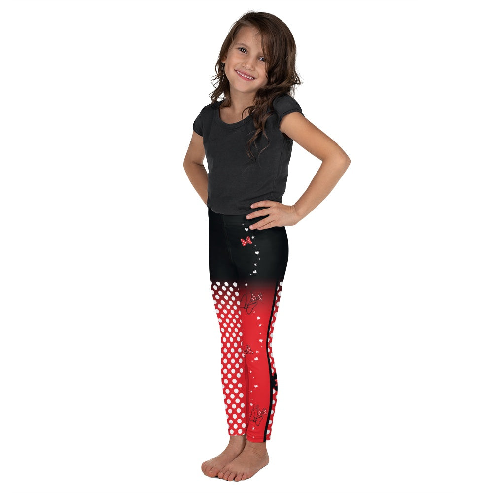 Leggings - Dots & Bows | Kids & Youth Leggings | Made In USA