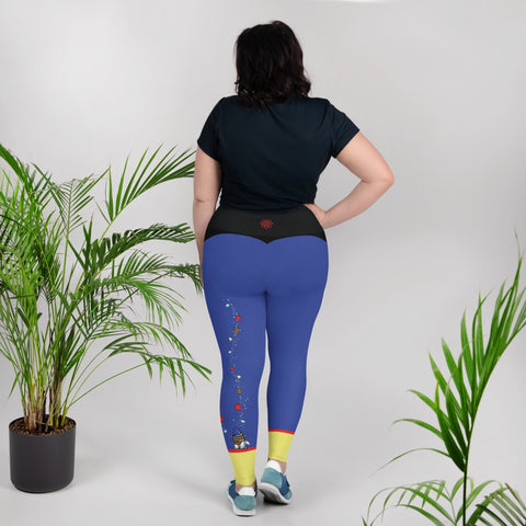 Leggings - Fairest Of Them All | Curvy Leggings  | Made In The USA