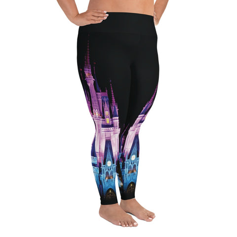 Leggings - Magical Castle | Leggings | Made In USA