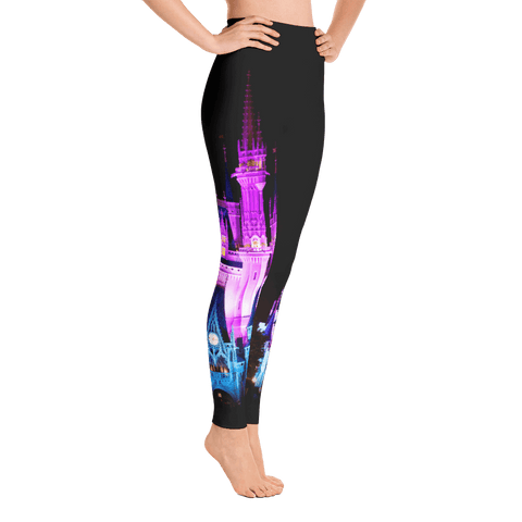 Leggings - Magical Castle | Leggings, Yoga Pants & Capris