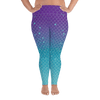 Image of Leggings - Mermaids And Bubbles | Curvy Leggings  | Made In The USA
