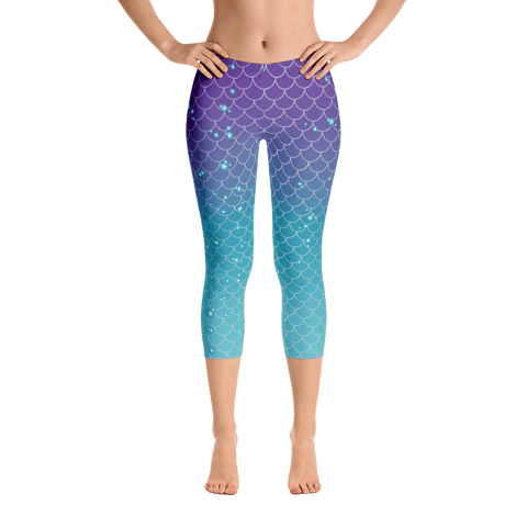 Leggings - Mermaids And Bubbles | Leggings | Made In The USA