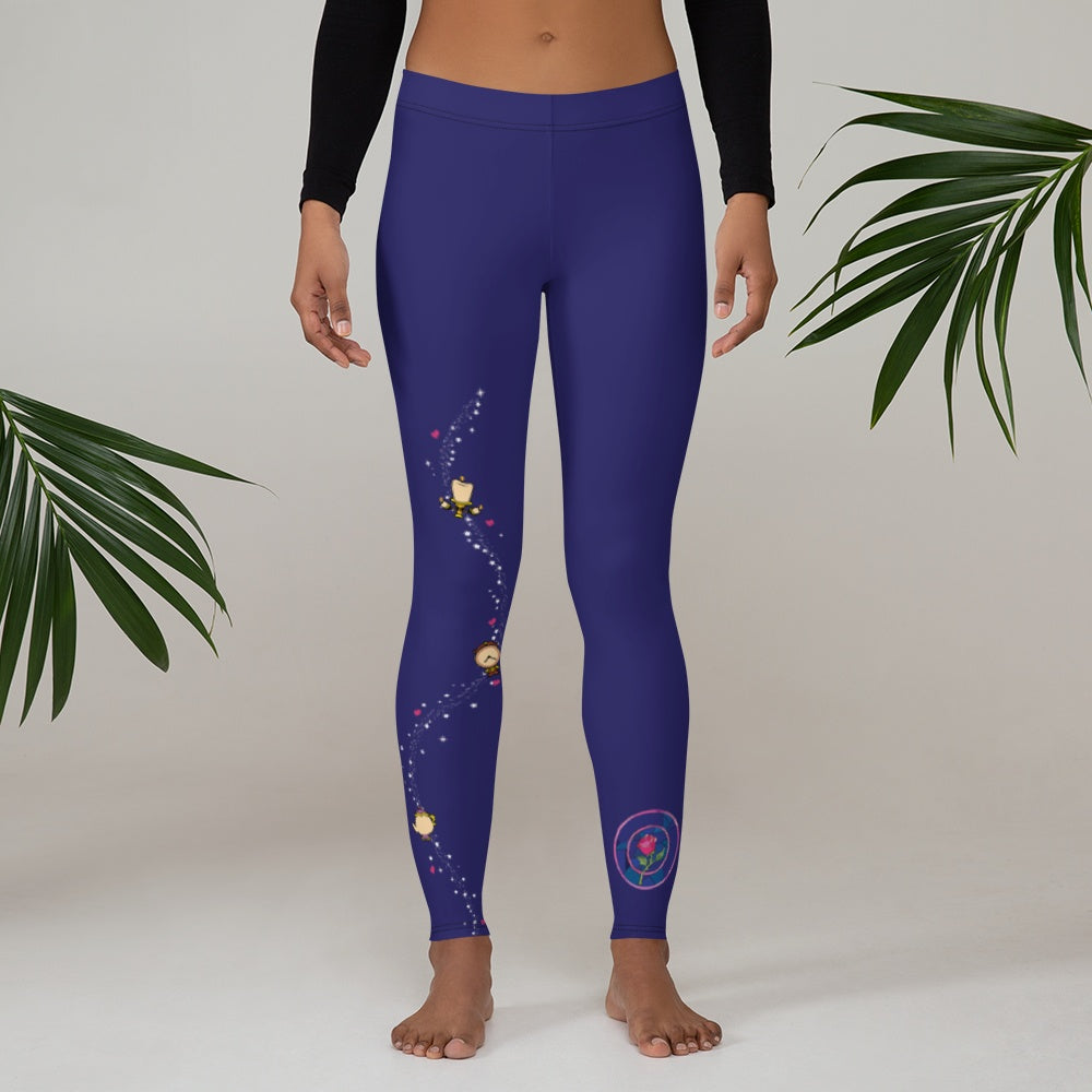 Leggings - Tale As Old As Time |  Leggings | Made In USA