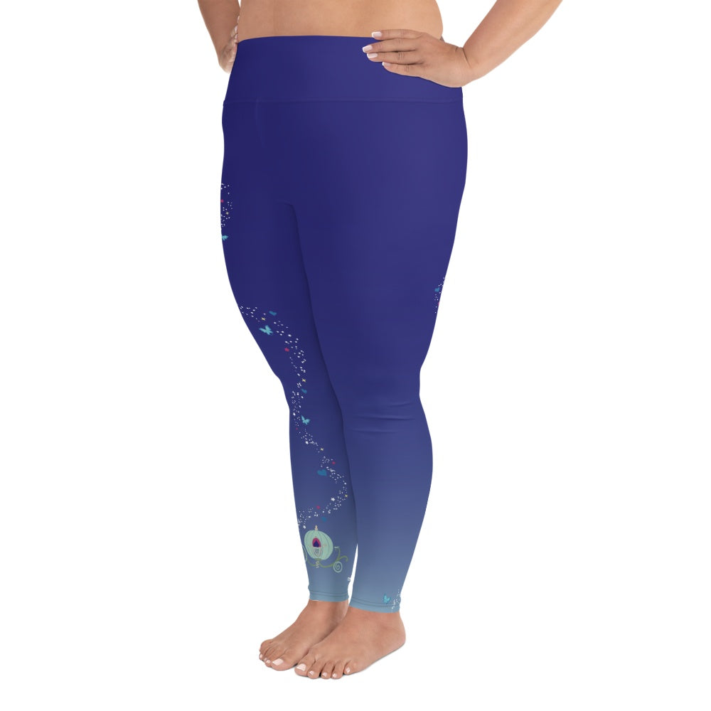Leggings - Wishes And Dreams | Curvy Leggings  | Made In The USA