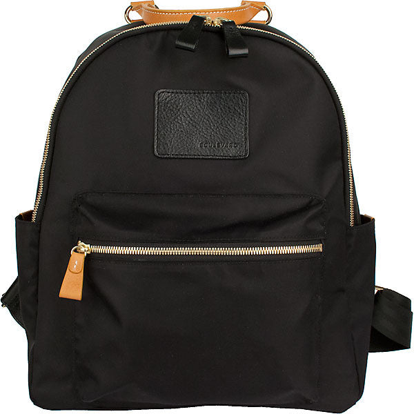 BRANDY NYLON + LEATHER BACKPACK by BOULEVARD