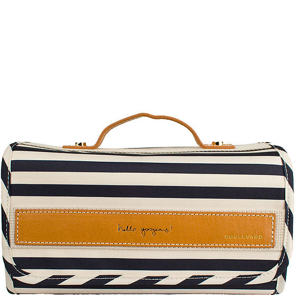 NAVY STRIPE DELILAH ROLL by BOULEVARD